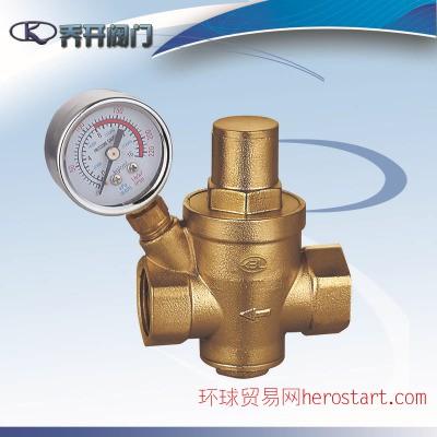 全铜支管式减压阀YZ11X 高灵敏减压阀 国标旋塞式减压阀