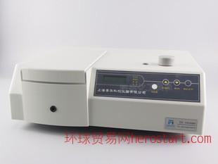 上海菁华可见分光光度计台式数显光度测定仪721 722型测波长
