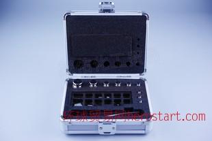 艾克瑞特 F1级无磁不锈钢盒装砝码1mg-100g