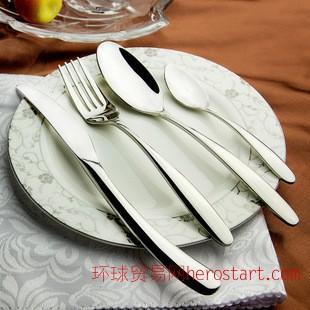 COSTA不锈钢餐具 西餐刀叉 不锈钢刀叉批发 勺子 揭阳餐具厂