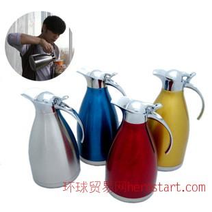 不锈钢欧式咖啡壶水壶厂家批发直销特价赠品礼品