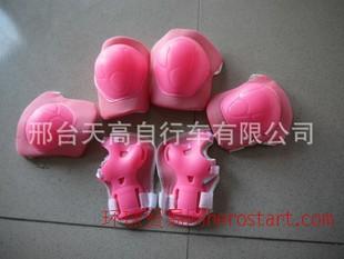 儿童溜冰鞋轮滑护具运动组合护具护膝六件套套装
