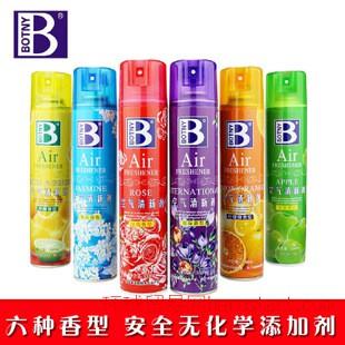 保赐利 汽车室内空气清新剂喷雾六种香型清香用品  一件代发