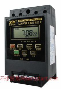 KG316T、DC12/DC24VAC110V/AC380V定时微电脑时控开关