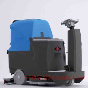 全自动驾驶式洗地机RJ-CL-80D系列 自动式洗地机洗地机价格扫地机
