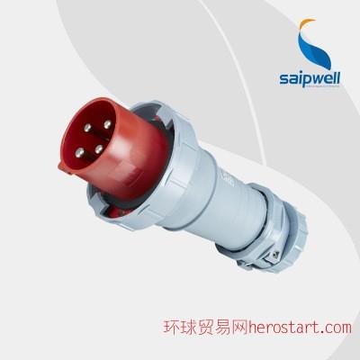 4P+N大电流工业防水插头 125A工业防水电源插头 SP1443插头