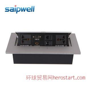 SP-LS601多功能桌面插座 电话电脑VGA插座 五孔插座