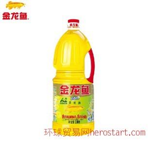 金龙鱼 1.8L AE纯香营养菜籽油 食用油批发价