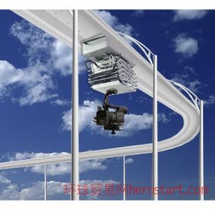 升降式移动监控轨道机 智能升降摄像 可升降轨道机