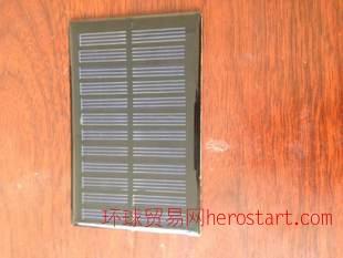 精品多晶太阳能滴胶板     多晶0.5W/6V/80MA滴胶板