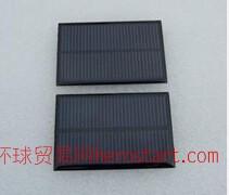 精品单晶太阳能滴胶板  单晶0.84W/5.5V/150MA滴胶板