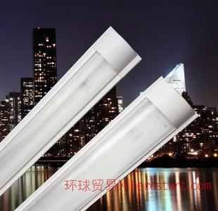 T8/LED防尘支架双支1.2米 透明罩