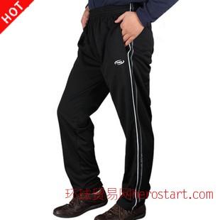 2014春秋冬男士运动裤子长裤直筒时尚健身批发一件代发代理