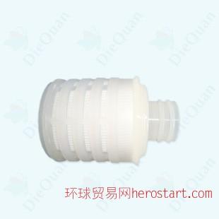 5寸PTFE折叠滤芯 5英寸发酵罐滤芯价格 呼吸器聚四氟乙烯滤芯