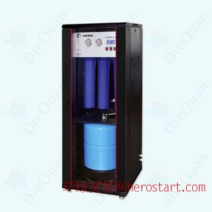 800G商用纯水机 豪华立柜式RO纯水机价格 800加仑商务净水器