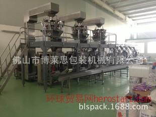 全自动包装生产线 食用盐包装生产线