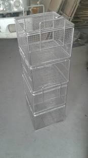 爆款 掀盖网框 推拉网篮 清洗 耐用 不锈钢 镀锌材质