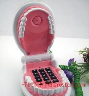 牙齿电话机  美白牙齿电话机 个性电话机