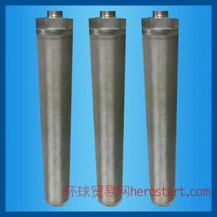 河北衡冠过滤器材厂供应优质滤芯不锈钢烧结滤芯型号齐全价格合理