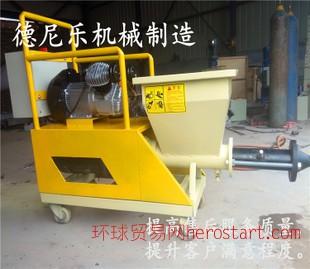 全自动水泥喷砂机 螺杆式砂浆喷涂机 喷浆机
