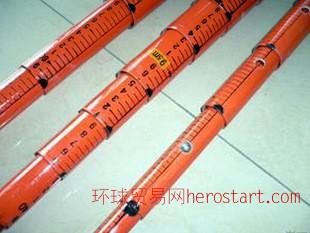 电之虹DH-C12型12米轻型绝缘伸缩测高 测高杆 测距杆