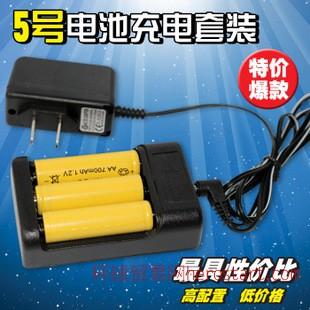 玩具充电器5号充电电池3.6v电动车遥控车专用电动玩具电池