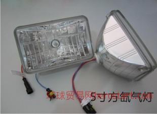 HID 24V卡车氙气灯 大型车 5寸方氙气灯 直售全网低