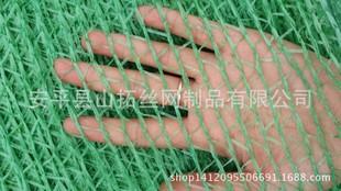 绿色两针盖土网,防尘网 PE