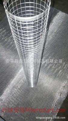 加工定做不锈钢电焊网过滤筒 碰焊网 过滤筒滤芯骨架 价格