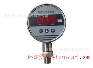 西安晨力智能压力控制器 数字压力变送控制器 两路继电器带变送