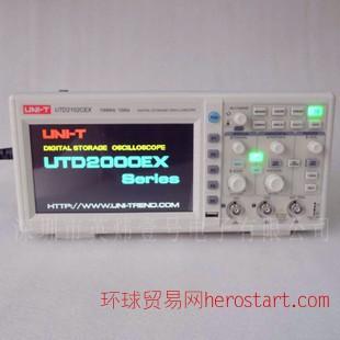 优利德UTD2102CEX 双通道 100MHZ 台式彩色数字存储示波器