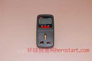 优利德UT230A 时控型多功能功率计量测试插座省电专家