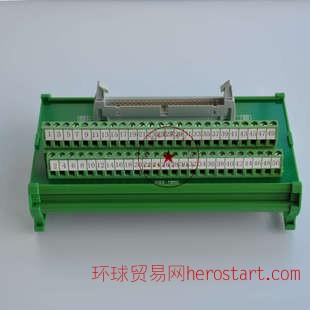 国产三菱MR-J3系列伺服驱动器中继端子排MR-TB50端子台