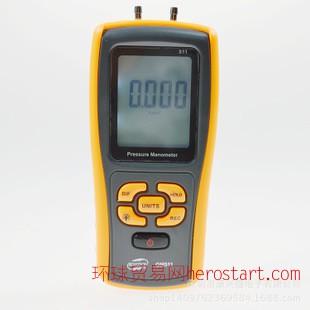压力仪表液晶显示高精度专业压差表GM511差压计