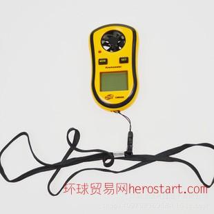 爆款手持迷你数字风速计AnemometerGM8908风速风温风速仪