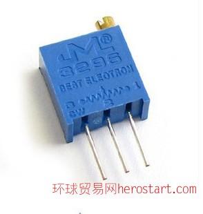 3296W-104(100K)精密可调高电位器 3296电位器