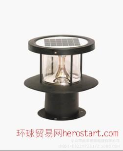 太阳能柱头灯 LED户外柱头灯 庭院草坪灯 可加工定制