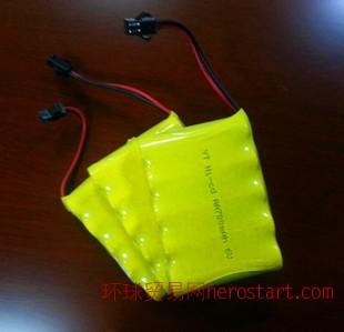 豪骏遥控车儿童玩具充电电池 遥控跑车6V电池 遥控车