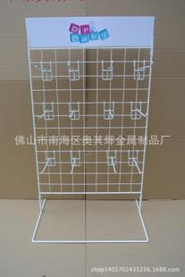 ()金属展示架,配挂钩铁线可移动精品架,促销架