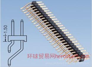 1.0/2.0/2.54单双排针180度90度SMT排针