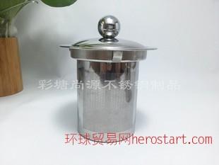 自销304不锈钢花茶壶内胆过滤网茶漏花茶壶