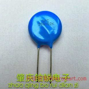 压敏电阻 25D102K