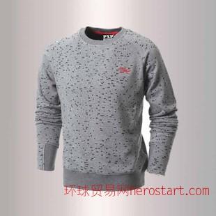 2015年爆款纯棉T恤 时尚加绒长袖T恤 厂家直销 一件代发