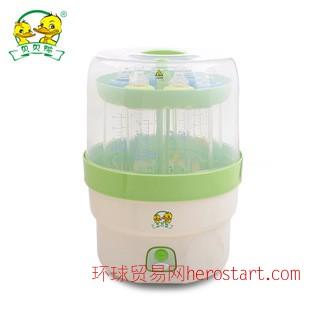 贝贝鸭婴儿宝宝bb用品奶瓶电脑蒸汽消毒器消毒锅不带烘干SY-B10B