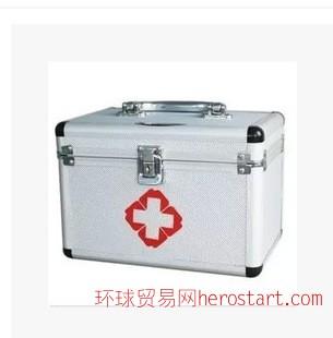 铝合金出诊箱 铝合金箱 医用药箱 家用药箱 11寸14寸16寸 储物箱
