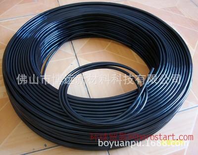pu防静电工业圆带 聚氨酯黑色圆带 聚氨酯传动带