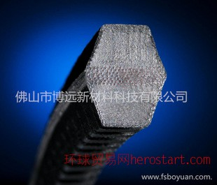 聚氨酯齿形六角带 pu带齿V型带 聚氨酯可接驳耐磨传动带 可定制
