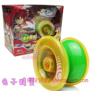 爆旋YOYO流行玩具 热卖动漫悠悠球 传奇再现三轴承溜溜球