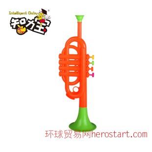 智力宝早教音乐 儿童玩具仿真喇叭 小孩玩具婴幼儿玩具