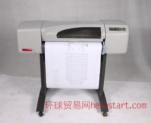 二手惠普/HP500A1大幅面黑白彩色绘图仪 CAD工程图海报写真机